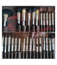 London Pride Velvet Luxurious Brush Set