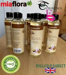 Miaroma Cold-Pressed Sweet Almond Oil