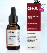 Q+A Natural Skincare Hyaluronic Acid Facial Serum