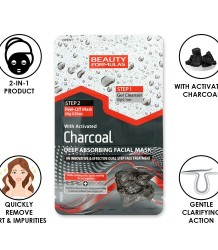 Beauty Formulas Charcoal Deep Absorbing Facial Mask