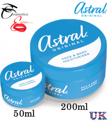 Astral Original Face & Body Moisturiser Cream 50ml & 200ml