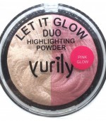 Yurily Let It Glow Highlighter Duo – Pink Glow