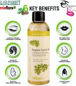 Miaflora 100% Cold-Pressed Castor Oil