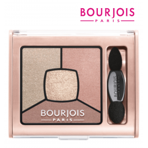 Bourjois Quad Smoky Stories Eyeshadow Over Rose